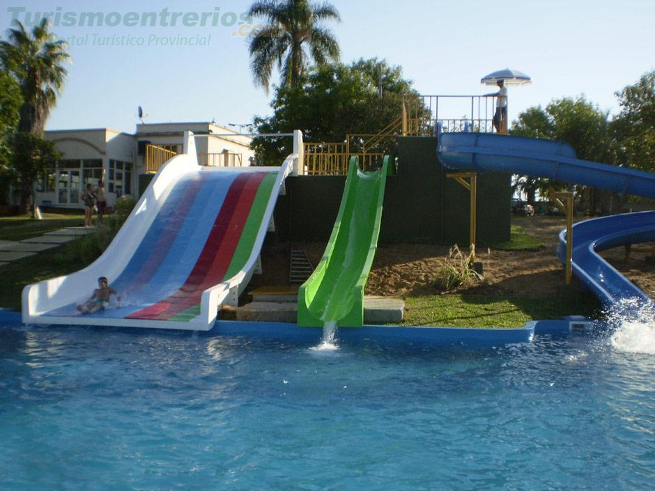 Parque Acuatico En Termas De San Jose Entre Rios Juegos Toboganes